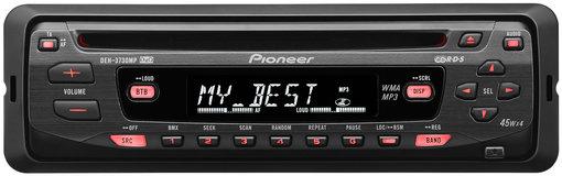 Bastler- & Defekte Radios Autoradio Pioneer Deh-3730mp